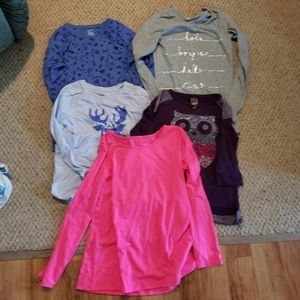 Other - ❤Host Pick❤ Lot of 5 Girls Long Sleeve Shirts